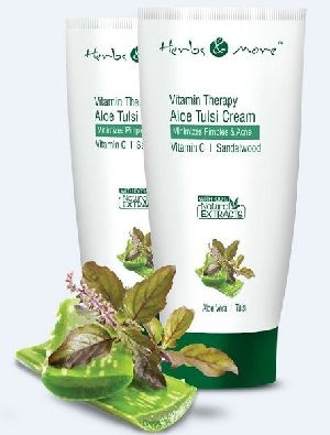 Herbal Aloe Tulsi Cream