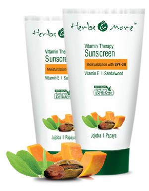 Herbal Sunscreen Cream