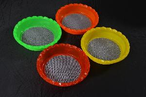 Multi Colour Atta Strainer