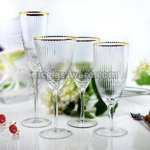 Bushy Edge Wine Goblets