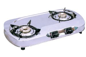 Knight Flame 2 Burner Jaguar Ss Lpg Stove