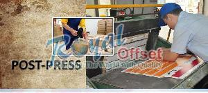 Post Press Printing Services