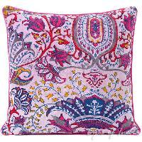 Banjara PatchWork Indian Square ottoman Cushion Cover