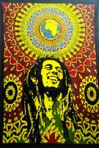 Bob Marley Indian Mandala Tapestry Cotton Wall Hanging