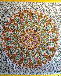 Indian Mandala Tapestry Bohemian Cotton Bedspread