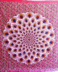 Ethnic Mandala Tapestry Hippie Bohemian Bedsheet