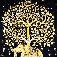 Handmade Cotton Tree Of life Indian Mandala Wall hanging