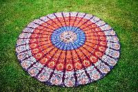 Handmade Floral Indian Mandala Cotton Tribal Beach Throw Towel