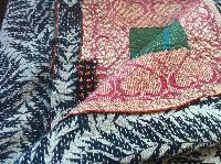 Handmade Multi Coloured Indian Kantha Quilt
