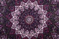 Handmade Tribal Star Tapestry Bedspread Wall Hanging