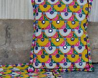 Indian Banjara Square Patchwork Cushion Cover