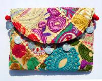 Handmade Cotton Vintage Multicolored Bags