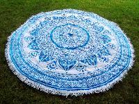 Mandala Round Tapestry Beach Throw