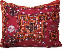 Embroidered Patchwork Handmade Cushion Cover