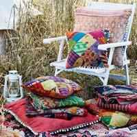 Kantha Handmade Designer Colourful Cushion Cover