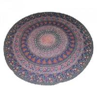 Ndian Mandala Bohemian Floral Handmade Cotton Beach Throw Towel