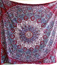 Star Indian Mandala Tapestry Wall Hanging