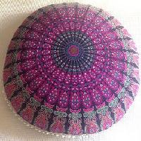 This Is A Screen Printed Cushion Cover, Floral Cushion