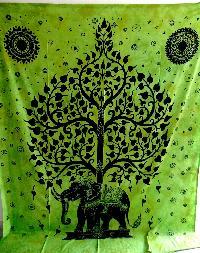 Tree Of Life Indian Mandala Tapestry Beach Throw