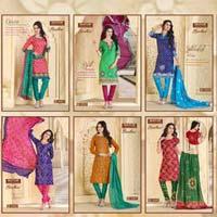 Mayur Bandhani Salwar Suit
