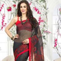 Super Net Printed Sarees
