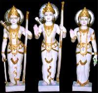 Marble Ram Laxman Sita Statues
