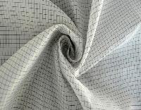 Anti Static Fabric Check Grid Design 02