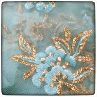 Net Sequins Embroidery