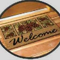 PVC Backed Coir Door Mats