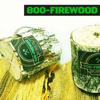 Birch Firewood Eco Log