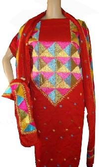 Punjabi Phulkari Suits
