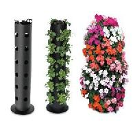 Pvc Garden Pipe Plants