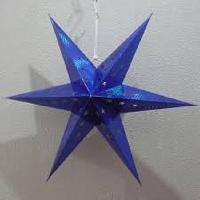 Christmas Hanging Paper Stars
