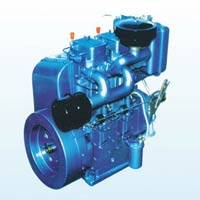 High Speed Air Cooled Double Cylinder Diesel Engines