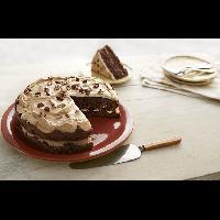Cocoa Meringue Cake