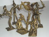 Crafted Brass Figures