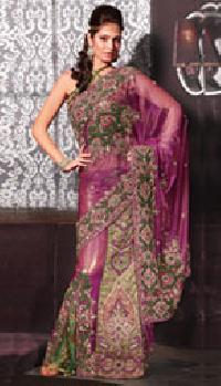 Shimmer Net Sarees
