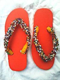 Beaded Slippers