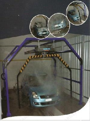 Robotic Car Wash System