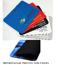 Promotional Printed Rubber Table Mats