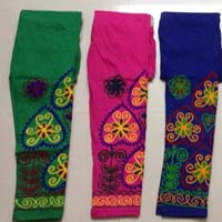 Embroidered Designer Legging