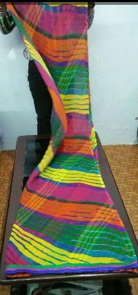 Multicolor Lehriya Chiffon Dupatta