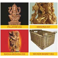 Handcarved Wooden Handicraft Products
