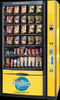 Combo Vending Machine With Refrigeration