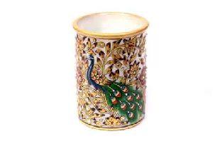 Marble Decorative Pen Holders