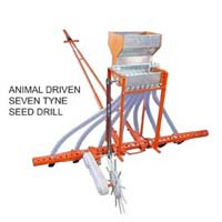 Animal Driven Seed Drill