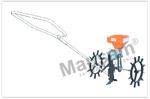 Manually Driven Automatic Seed Drill