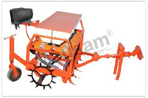 Power Tiller Driven Automatic Seed Cum Fertilizer Drill
