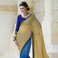 Beige Embroidered Un Stitched Straight Suit