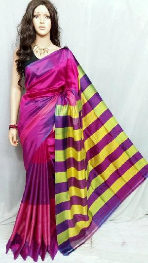 Hand Painted Pure Silk Sarees